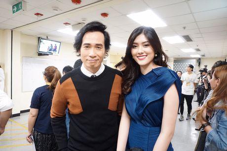 Nguoi dep 9X Huynh Tien xinh dep ben dan sao noi tieng TVB - Anh 1