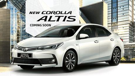 Toyota Altis 2017 thay doi thiet ke nhe, them tinh nang - Anh 1