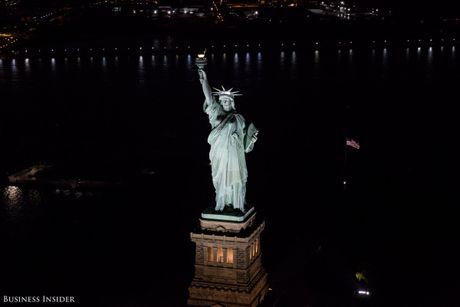 Bo anh New York dem sieu trang tu truc thang khong cua - Anh 8