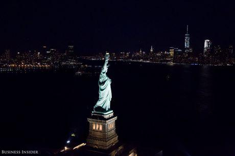 Bo anh New York dem sieu trang tu truc thang khong cua - Anh 9