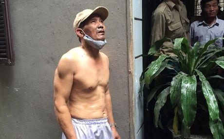 Anh vu chay tren duong Tran Khat Chan, Ha Noi - Anh 1