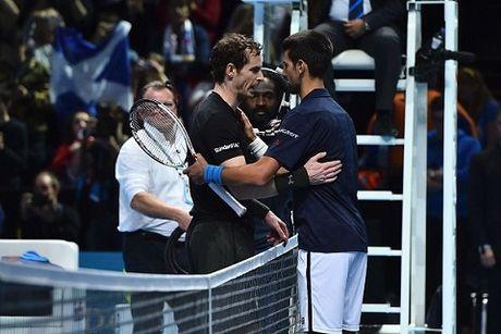 Vo dich ATP Finals 2016, Andy Murray ket thuc nam o vi tri so 1 the gioi - Anh 1