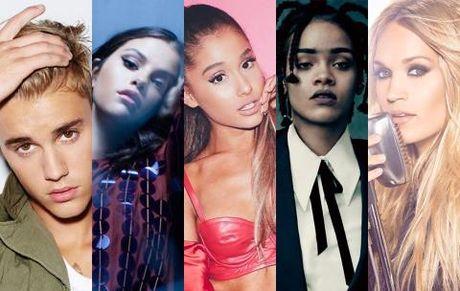Ariana Grande suong run vi duoc fan binh chon Nghe si xuat sac - Anh 1