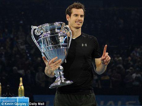 Nhung thong ke dac biet ve Andy Murray trong nam 2016 - Anh 1