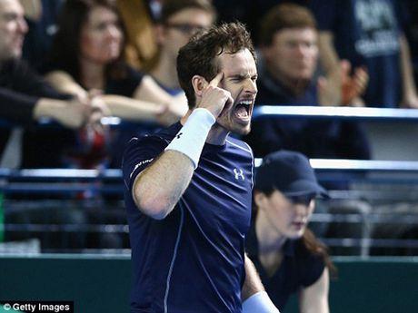 Nhung thong ke dac biet ve Andy Murray trong nam 2016 - Anh 6