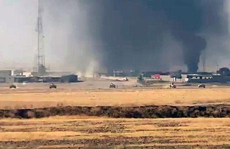 IS gia tang hoat dong danh bom tu sat de can buoc quan doi Iraq - Anh 1