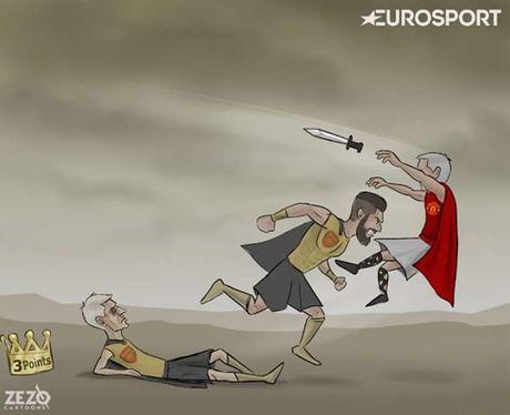 Biem hoa 24: Conte 'soan ngoi' Klopp, Mourinho them khat top 4 - Anh 1