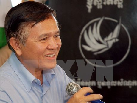 Campuchia: Cac nghi sy dang CNRP doi lap tro lai Quoc hoi - Anh 1