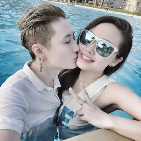 Hotboy 'Ong ba anh' va diem trung hop voi nguoi yeu MC VTV - Anh 14