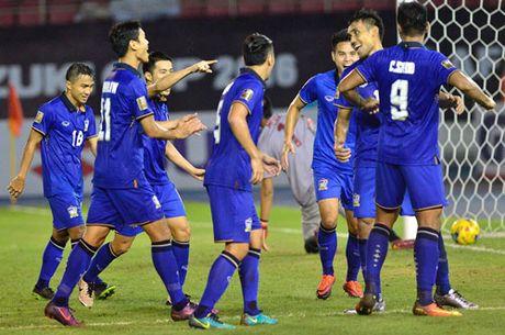 Clip: Thang Singapore 1-0, Thai Lan doat ve vao ban ket - Anh 1