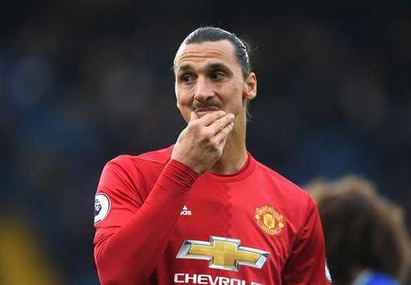 Ibrahimovic noi su that lam mat long CDV Man Utd - Anh 1