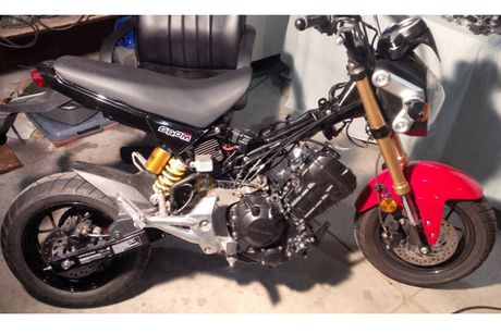 'Hang khung' Honda MSX do dong co len den 250 phan khoi - Anh 5