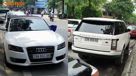 Bo doi xe sang Lexus o Quang Ninh dung chung bien 6666 - Anh 4