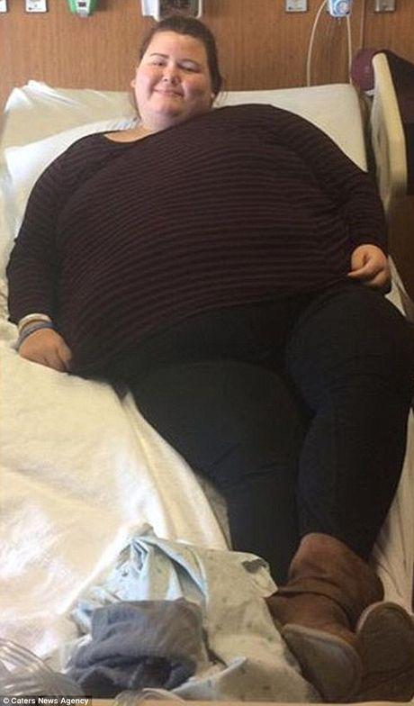 Hanh trinh giam can cua co nang nang 189 kg gay choang - Anh 7