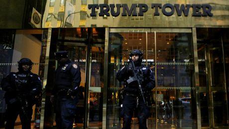 New York tieu ton 1 trieu USD/ngay de bao ve gia dinh ong Trump - Anh 1