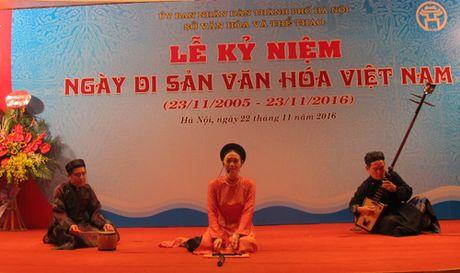 Ha Noi khai mac nhieu hoat dong nhan Ngay Di san Van hoa Viet Nam - Anh 11