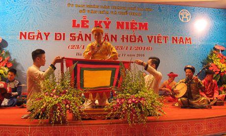 Ha Noi khai mac nhieu hoat dong nhan Ngay Di san Van hoa Viet Nam - Anh 13