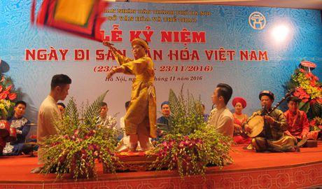 Ha Noi khai mac nhieu hoat dong nhan Ngay Di san Van hoa Viet Nam - Anh 14