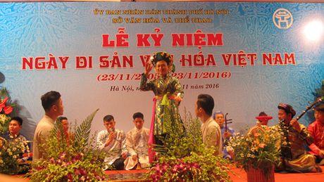 Ha Noi khai mac nhieu hoat dong nhan Ngay Di san Van hoa Viet Nam - Anh 15