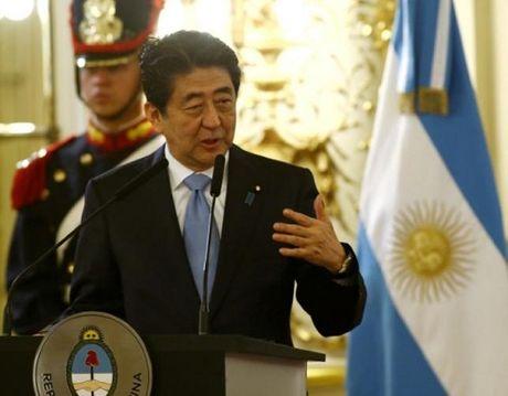 Thu tuong Nhat: Hiep dinh TPP vo nghia neu khong co My - Anh 1