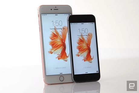 Apple bat dau thay pin cho iPhone 6S bi loi - Anh 1