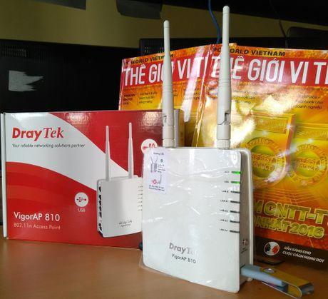 Danh gia Access Point DrayTek VigorAP 810 - Anh 1