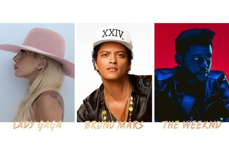 Lady Gaga, Bruno Mars, The Weeknd se dot chay Victoria's Secret Show 2016 - Anh 1