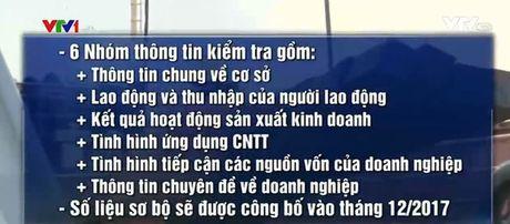 Thanh lap Ban chi dao Tong dieu tra kinh te Trung uong 2017 - Anh 1