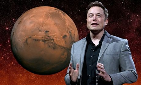 Ty phu SpaceX he lo ke hoach chinh phuc sao Hoa - Anh 1