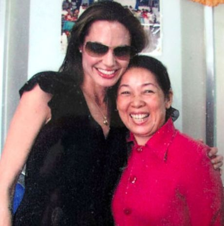 Angelina Jolie quen loi hua dua Pax Thien ve tham Tam Binh - Anh 2
