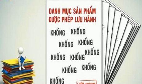 Khong duoc xu ly noi bo viec cap khong 800 giay phep kiem nghiem thuc an thuy san - Anh 1