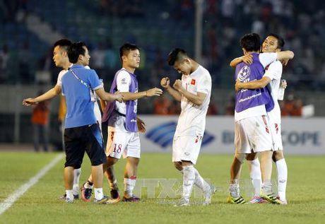 Tien dao Cong Vinh tu tin tuyen Viet Nam se thang Malaysia - Anh 1