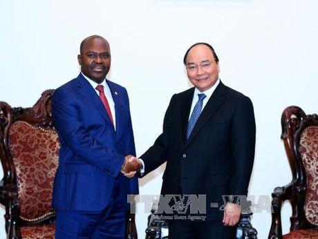 Thu tuong tiep Bo truong Bo Noi vu Mozambique - Anh 1