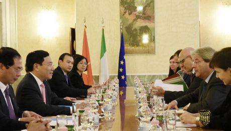 Italia se thuc day som ky ket Hiep dinh Thuong mai tu do giua Viet Nam va EU - Anh 2