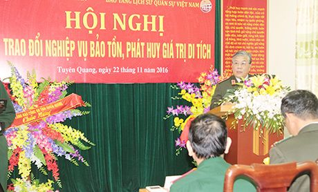Cong an, Quan doi tang cuong trao doi nghiep vu bao ton, phat huy gia tri di tich - Anh 2