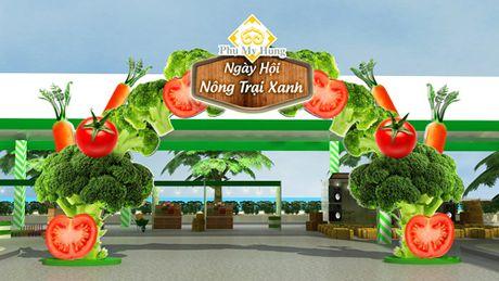 Ngay hoi Nong trai Xanh 2016 tai Phu My Hung - Anh 1