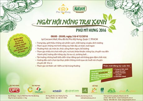 Ngay hoi Nong trai Xanh 2016 tai Phu My Hung - Anh 2