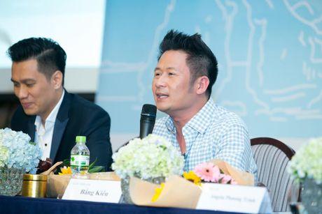 Bang Kieu, Angela Phuong Trinh hoi ngo trong buoi ra mat phim - Anh 2