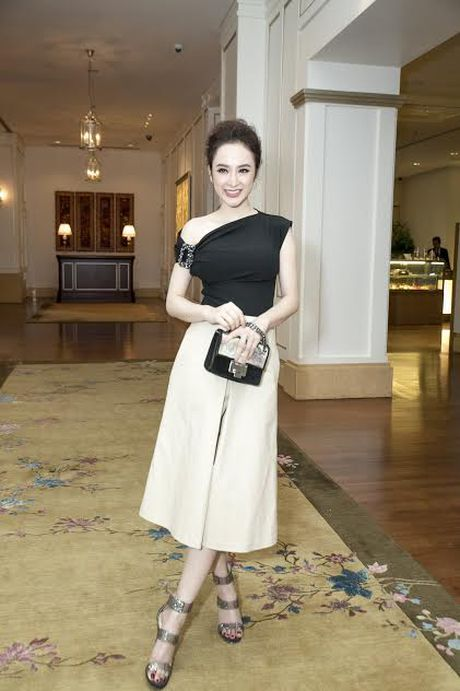 Bang Kieu, Angela Phuong Trinh hoi ngo trong buoi ra mat phim - Anh 4