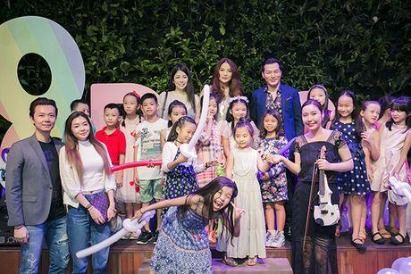 Truong Ngoc Anh - Tran Bao Son cung to chuc sinh nhat cho con gai - Anh 17