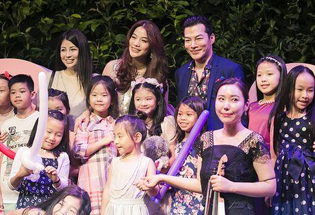 Truong Ngoc Anh - Tran Bao Son cung to chuc sinh nhat cho con gai - Anh 3