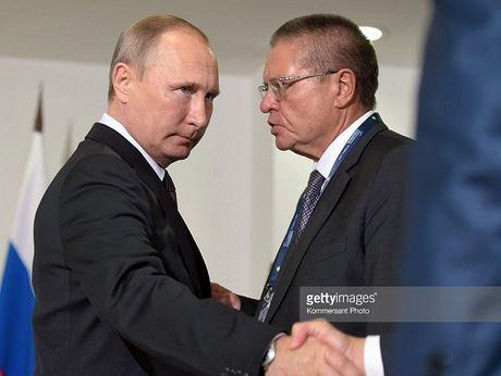 Tong thong Putin lan dau len tieng vu bo truong kinh te tham nhung - Anh 1