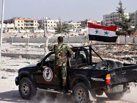 Syria gianh quyen kiem soat phong tac chien cua phien quan o Aleppo - Anh 1