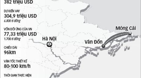 Cao toc Van Don – Mong Cai duoc dau tu 14.000 ti dong theo phuong an BOT - Anh 1