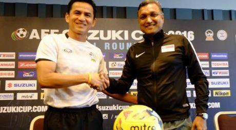 Luot 2 bang A AFF Cup: Thai Lan - Singapore - Cuoc dung do cua nhung nha vo dich - Anh 1