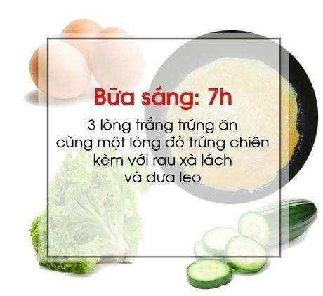 Thuc don mau cho nguoi muon giam can - Anh 1