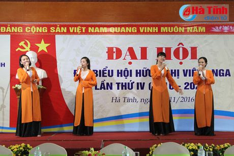 Dai hoi Hoi Huu nghi Viet – Nga tinh Ha Tinh lan thu IV - Anh 1