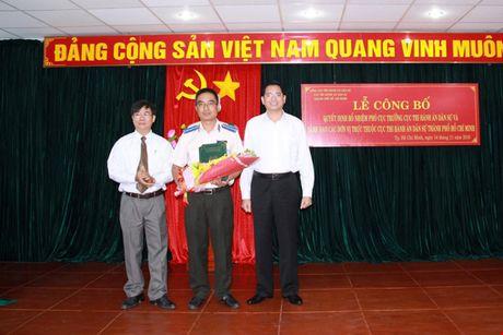 Tong Cuc THADS bo nhiem nhan su moi tai TP.HCM - Anh 1