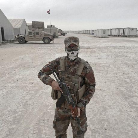 Nhung sac ao chien binh trong luc luong giai phong Mosul - Anh 10