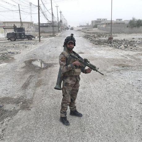 Nhung sac ao chien binh trong luc luong giai phong Mosul - Anh 11